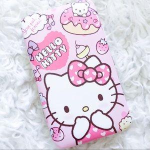 Hello kitty clutch wallet